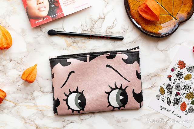 ipsy glam bag October наполнение и отзыв