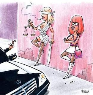 Resultado de imagem para justiça prostituta