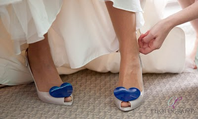Who Puts The Penny In The Bride S Shoe