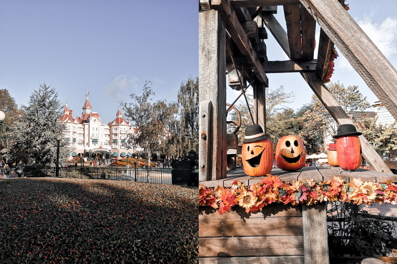 Citrouilles d'Halloween à Disneyland Resort Paris