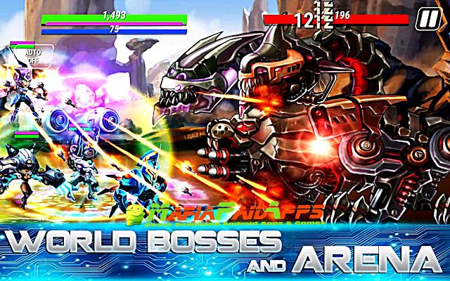 Heroes Infinity: Gods Future Fight Apk MafiaPaidApps
