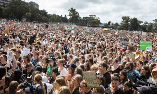 Anatomia e imagens do grande protesto global