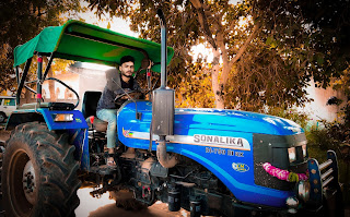third most selling tractor brand in India