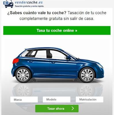 Tasa tu coche gratis