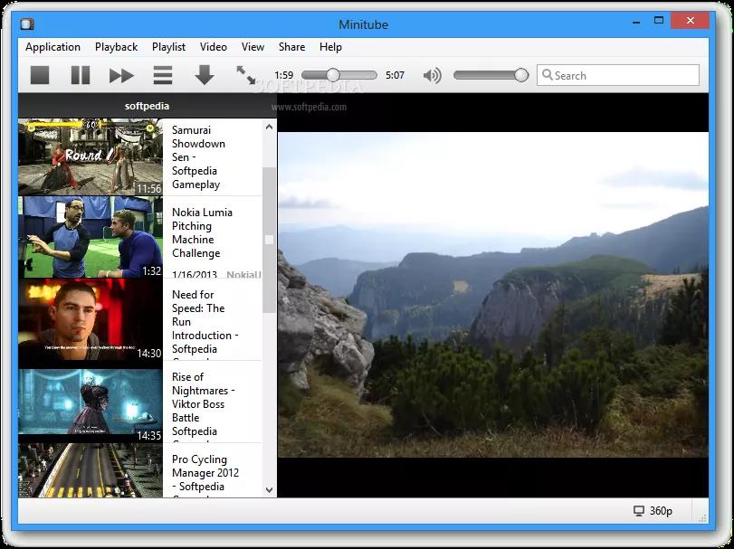 تحميل برنامج Minitube 3.4 لمشاهدة مقاطع الفيديو من يوتيوب دون الحاجة إلى متصفح