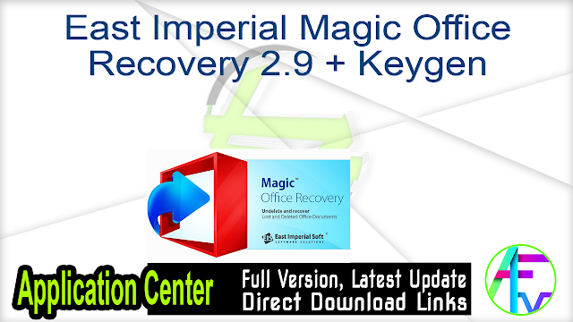 East Imperial Magic Office Recovery 2.9 + Keygen
