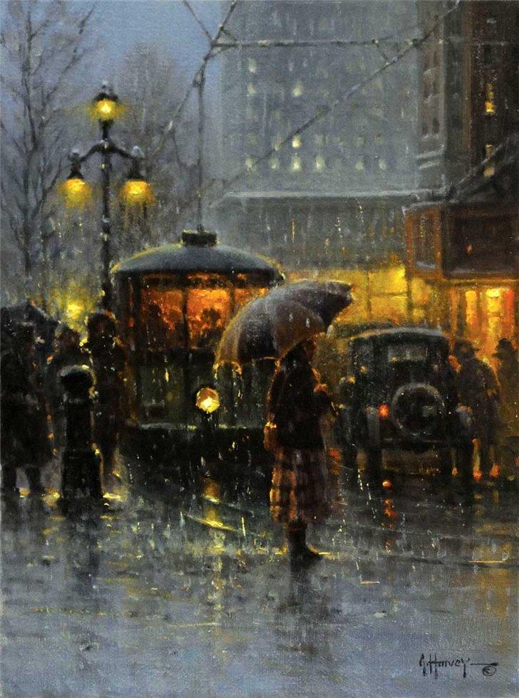 Gerald Harvey Jones, 1933 ~ Western Painter