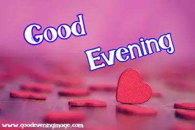 Good Evening heart photos