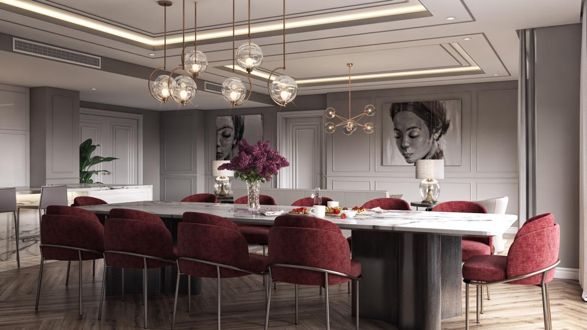 50 Desain Ruang Makan Mewah Untuk Hunian Sempurna Rumahku Unik