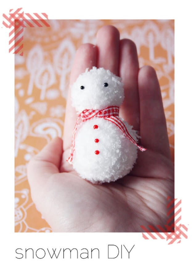 DIY Navideño bola de nieve
