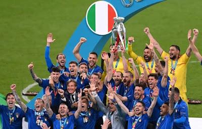5 Fakta Unik Timnas Italia Vs Timnas Inggris di Final EURO 2020
