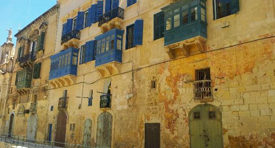 Valletta streets malta travel guide