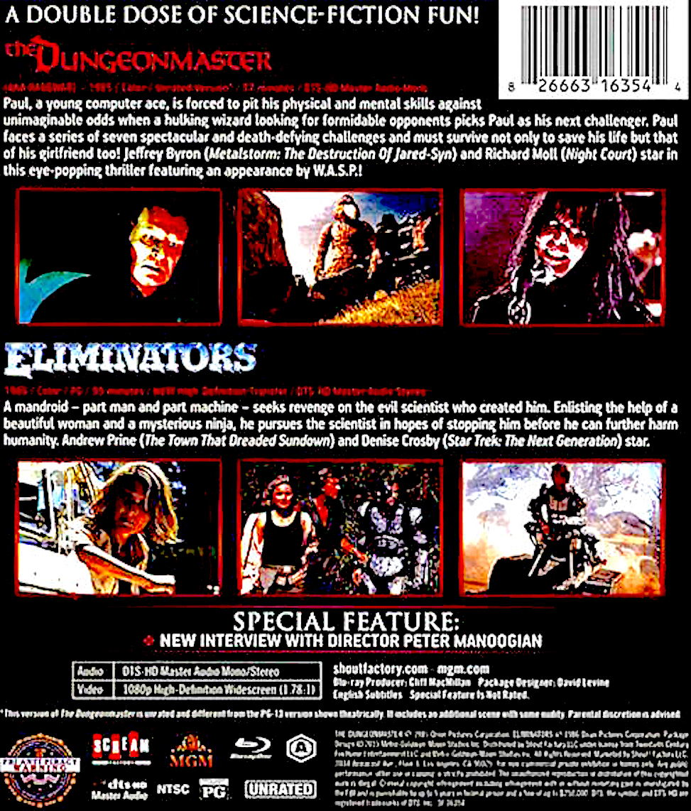 Blu-Ray And Dvd Covers Scream Factory Double Feature Blu -1388
