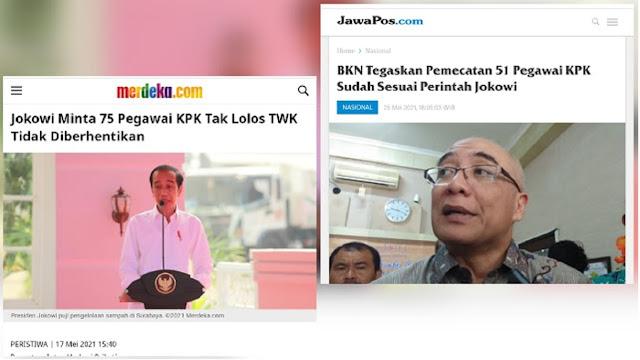 51 Pegawai KPK Tetap Dipecat padahal Jokowi Bilang Jangan, Pengamat: Rakyat Kena Prank Lagi