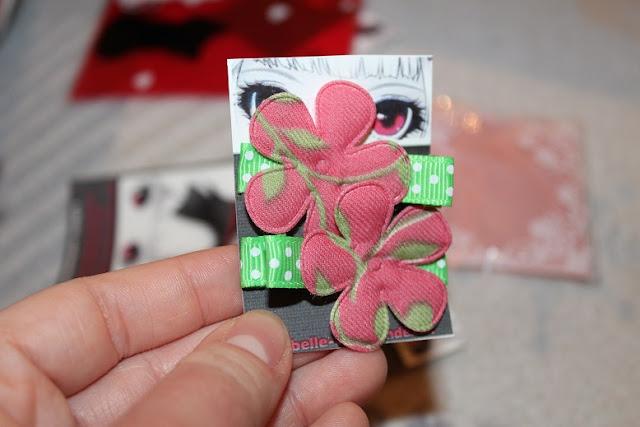 barette pour enfants rose