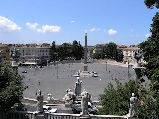 Rome's Piazza del Popolo