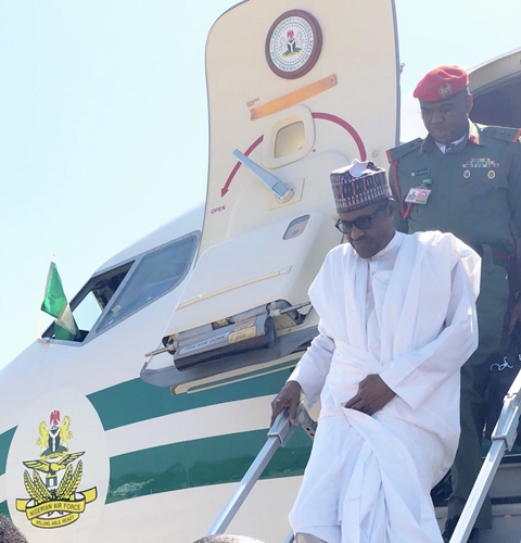Buhari Visits Kaduna To Intervene Over Killings (Photos)
