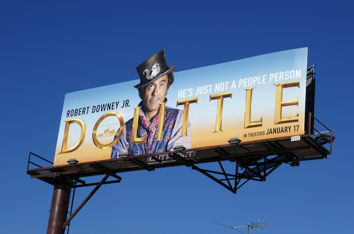 Dolittle extension billboard