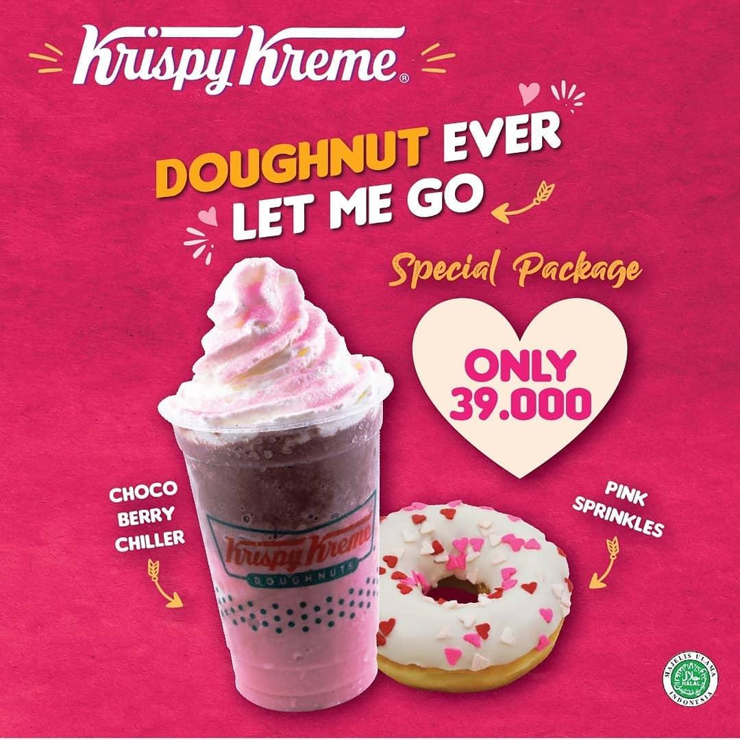 Krispy Kreme Promo Special Package februari 2020
