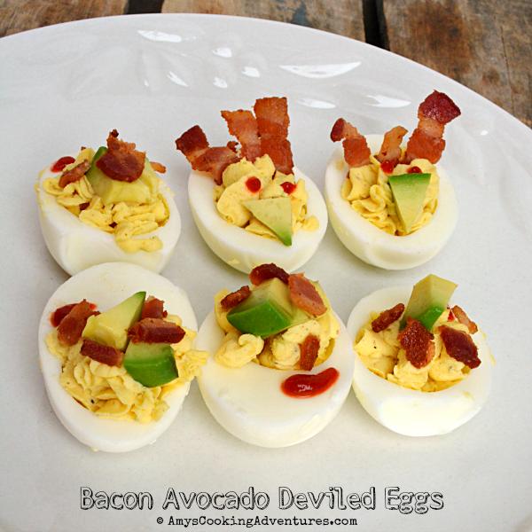 Bacon Avocado Deviled Eggs Are A Fun Twist On A Classic