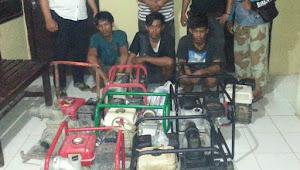 Reskrim Bongkar Sindikat Pencurian Pompa Air di Belawa