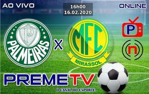 Palmeiras x Mirassol Hoje Ao Vivo