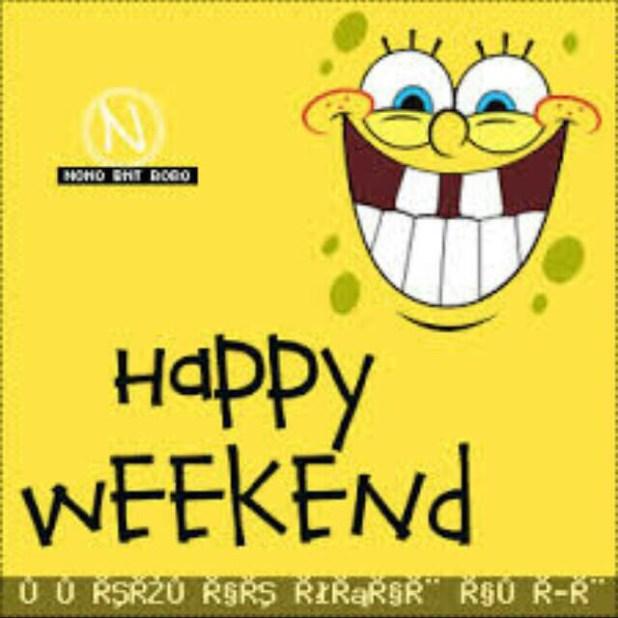 الرد على كلمة Happy Weekend موقع فكرة