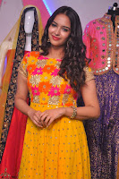 Pujitha in Yellow Ethnic Salawr Suit Stunning Beauty Darshakudu Movie actress Pujitha at a saree store Launch ~ Celebrities Galleries 044.jpg