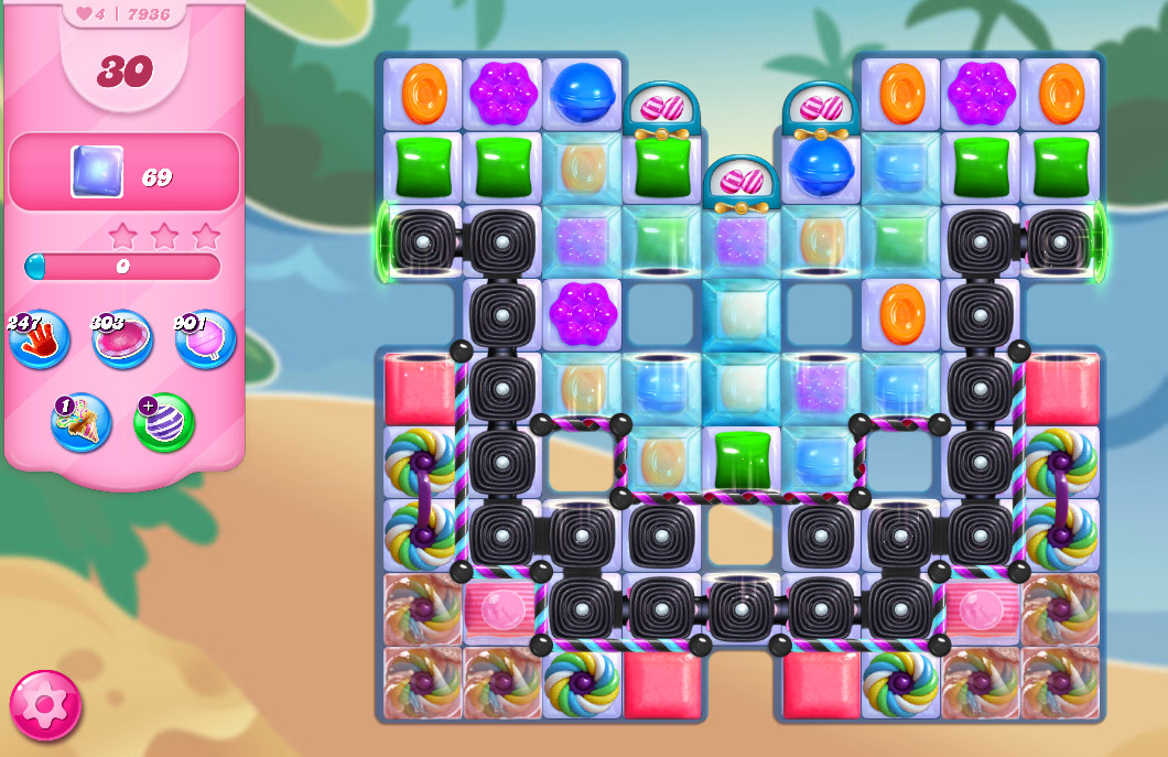 Candy Crush Saga level 7936