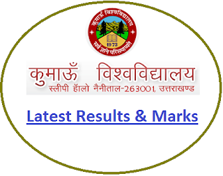 Kumaun University Odd Sem Result 2018