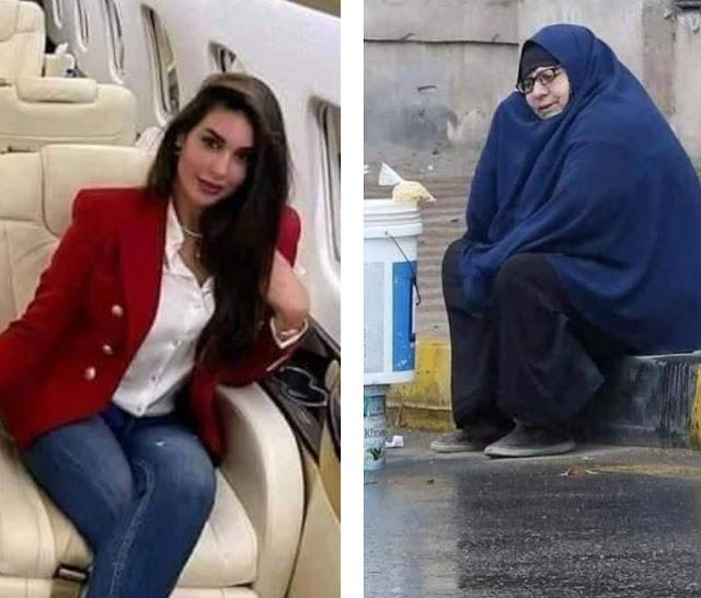 ياسمين صبري تتكفل بالسيدة نعمات بائعة الترمس تحت المطر