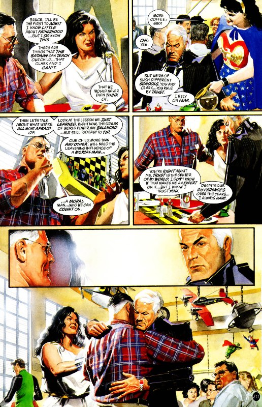 superman and wonder woman relationship will end badly definition