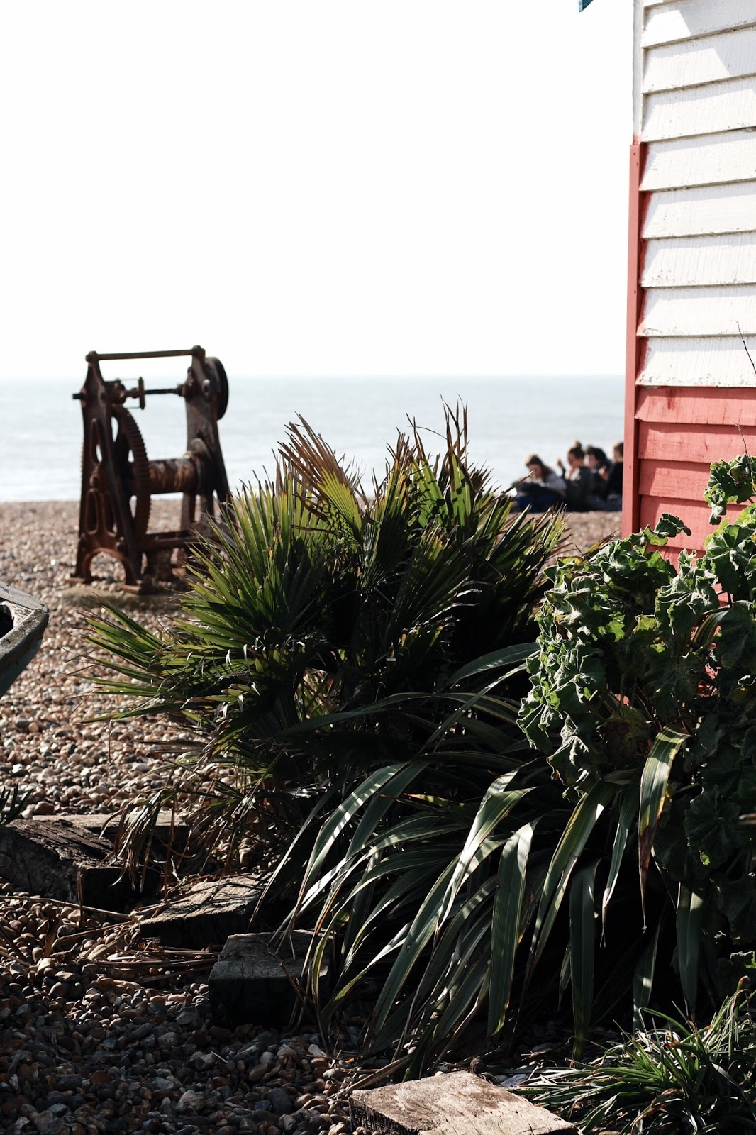 UK Brighton Beach in Winter
