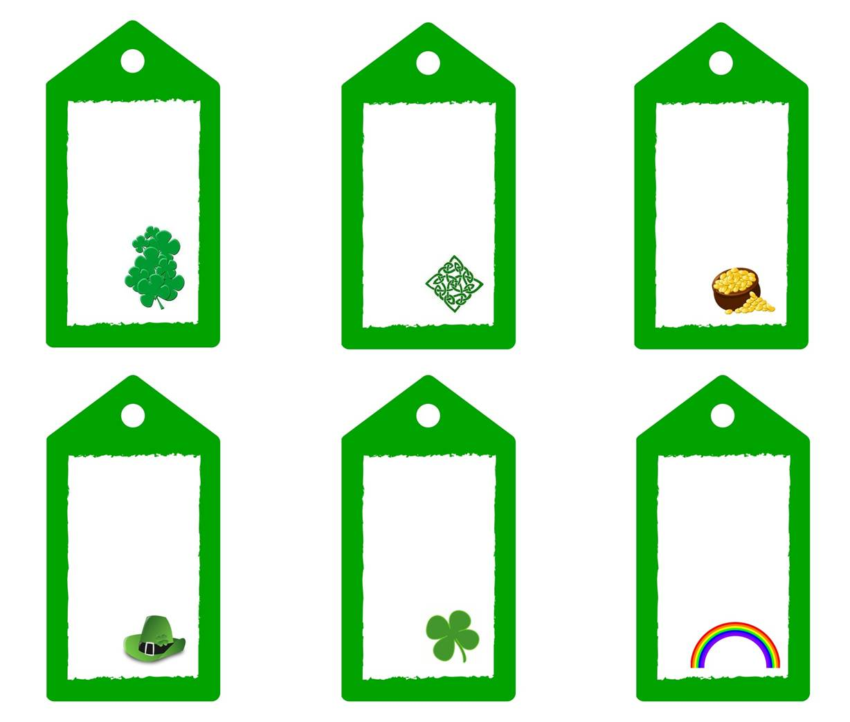 St Patrick S Day T Tags Free Printable