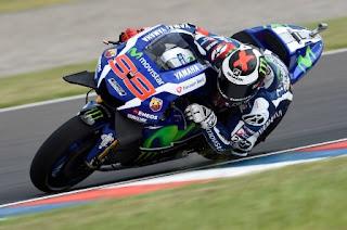 Lorenzo Tercepat FP4, Rossi Ketiga