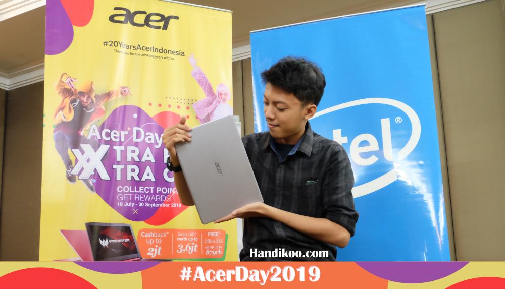 Acer Day 2019, Bertabur 2222 Hadiah Sensasional!