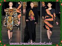 Etro 2011-2012 Sonbahar Kış Kadın Kıyafetleri Kolleksiyonu
