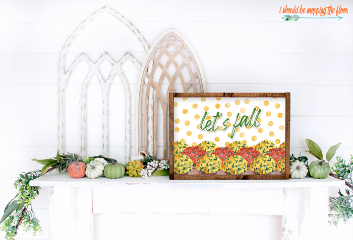 Free Let's Fall Printable