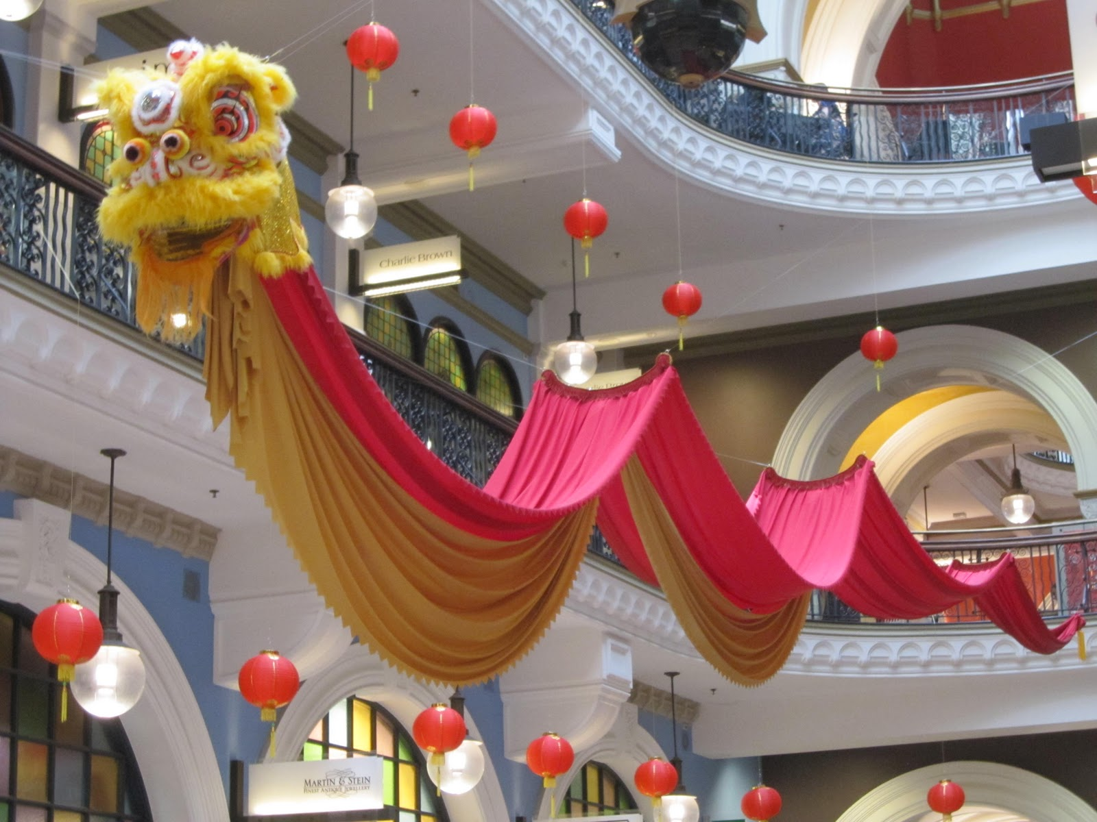 Chinese Dragon Decor Sydney City And Suburbs Queen Victoria Building