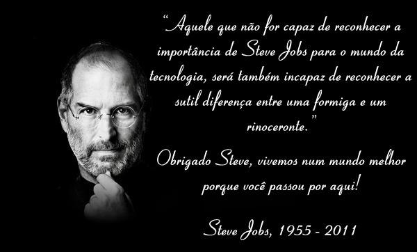 Por Miltinho De Carvalho Uma Mensagem: Analder: A Importância De Steve Jobs