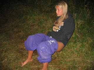 Teen Piss Outdoor