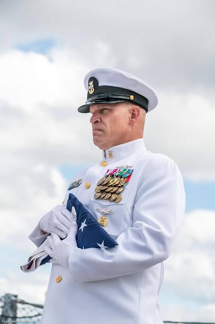 Retirement Ceremony, USS NEW JERSEY