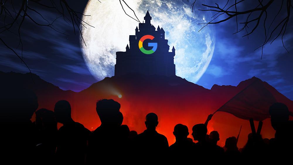 O totalitarismo do Google anti-saúde: Agora censura todos os sites de saúde natural e nutrição