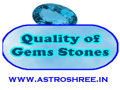 test quality of gems stone by astrologer