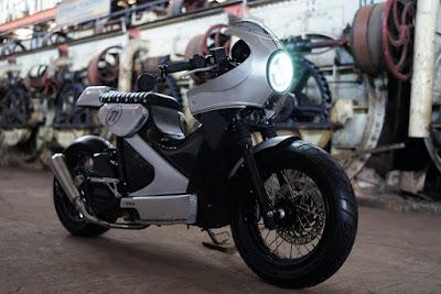 Modifikasi Honda PCX Cafe Racer oleh Muhammad Fiqhi Wahyu Pramana