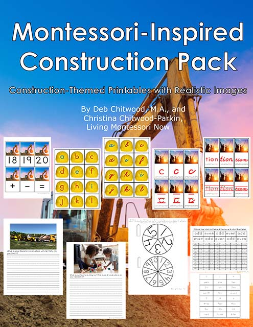 Montessori-Inspired Construction Pack