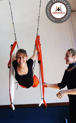 yoga aéreo teacher training formación