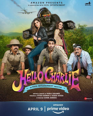 Hello Charlie (2021) Hindi 720p WEB HDRip ESub x265 HEVC 530Mb