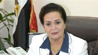 المهندسة نادية عبده محافظ البحيرة