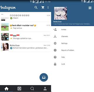 BBM Mod Instagram